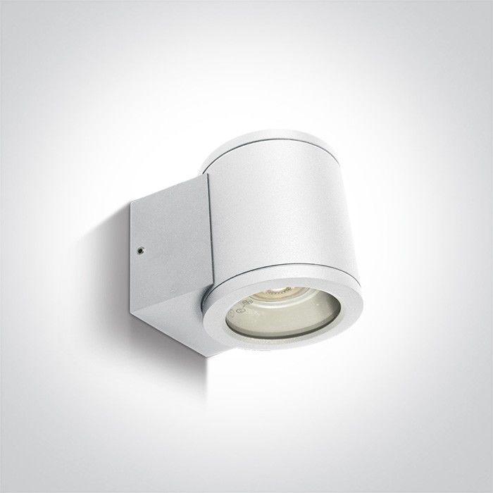 Kinkiet elewacyjny zewnętrzny Como 1 punktowy IP54 biały 67400A/W - OneLight Do -17% rabatu w koszyku i darmowa dostawa od 299zł !