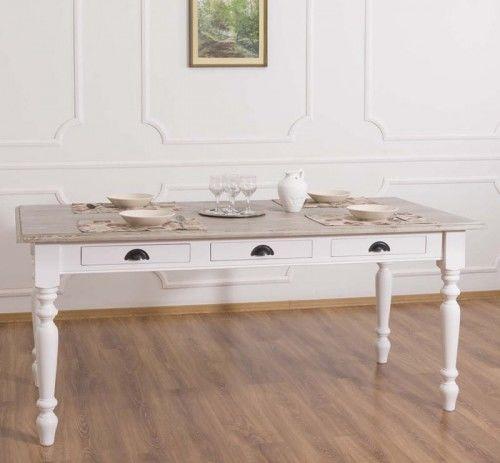 Stół z szufladami 180x90