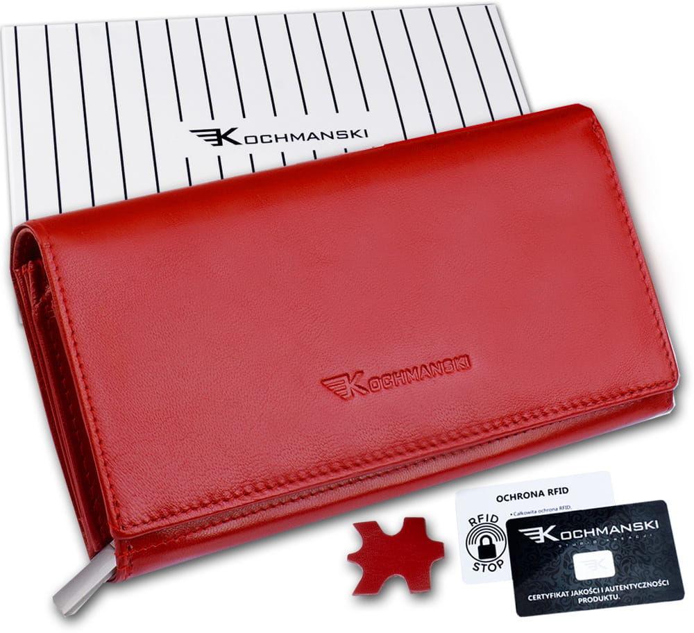KOCHMANSKI portfel damski skórzany XXL 4310