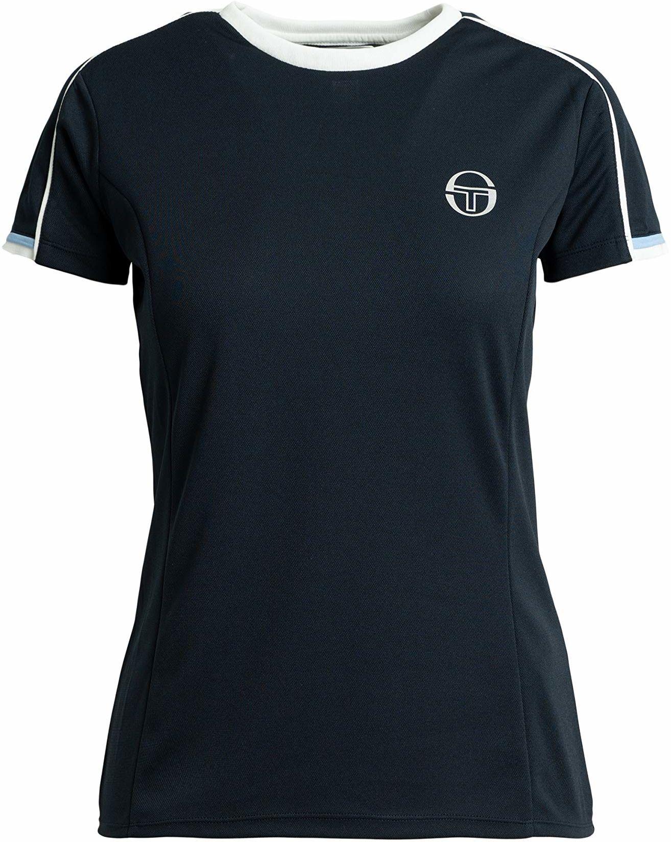 Sergio Tacchini Damski T-shirt Pliage T-shirt damski niebieski granatowy/biały XS