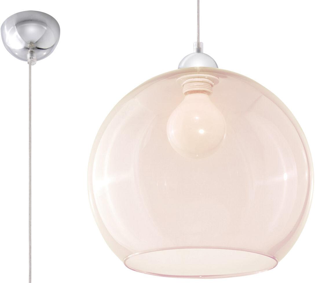 Lampa wisząca BALL szampański SL.0249 - Sollux  Sprawdź kupony i rabaty w koszyku  Zamów tel  533-810-034