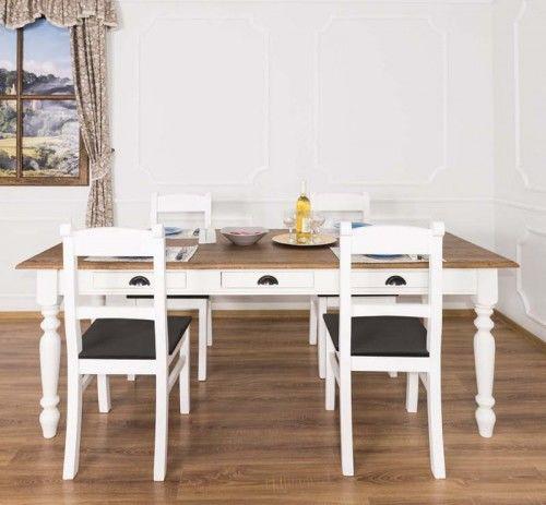 Stół z szufladami 210x90