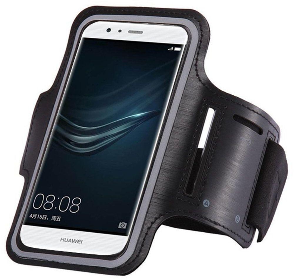 Armband do biegania opaska na ramię na telefon smartfon 6 cali czarny