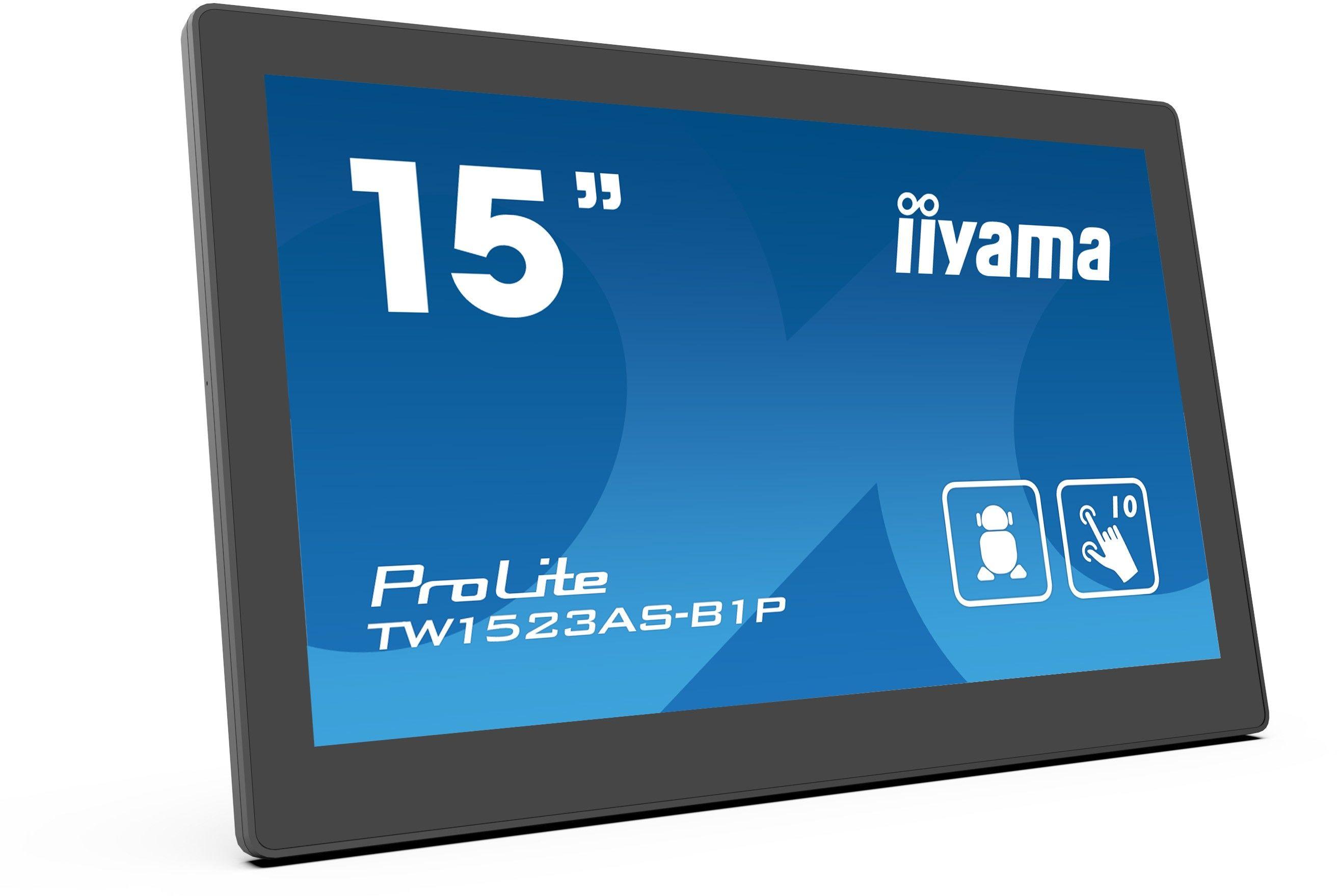 """Monitor dotykowy iiyama ProLite TW1523AS-B1P 15"""", Android, PoE, mikrofon, głośniki + WYSYŁKA W 24H GRATIS !! AUTORYZOWANY SKLEP IIYAMA"""