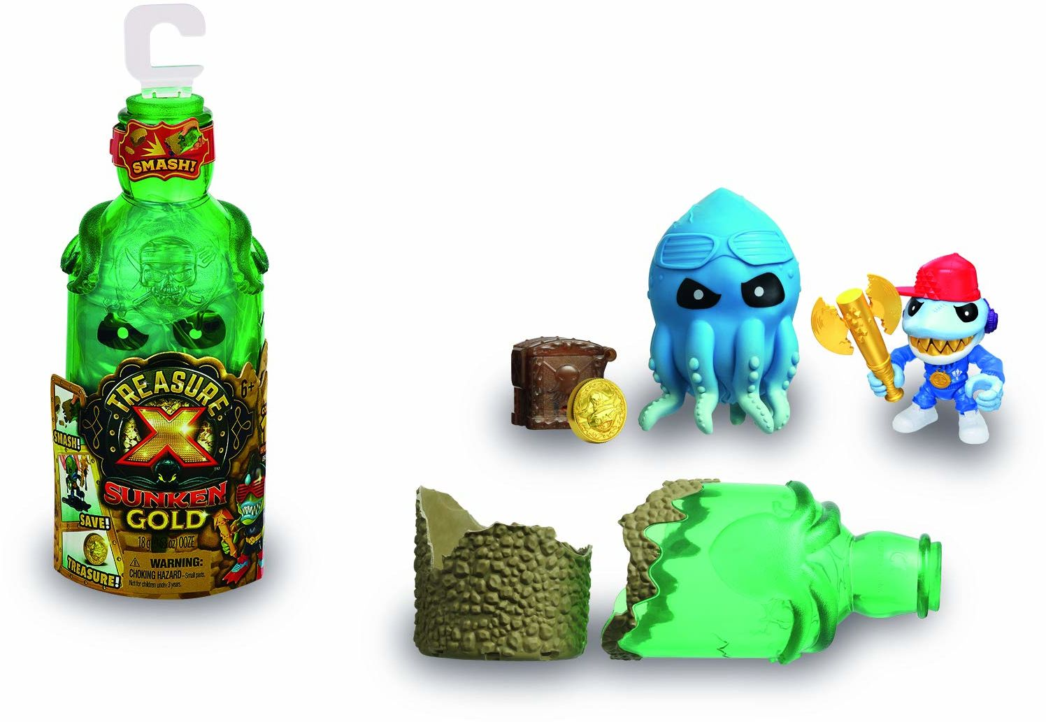 Treasure X figurki Sunken Gold, seria 5 (Famosa 700016085)