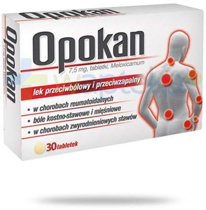 Opokan 7,5mg 30 tabletek
