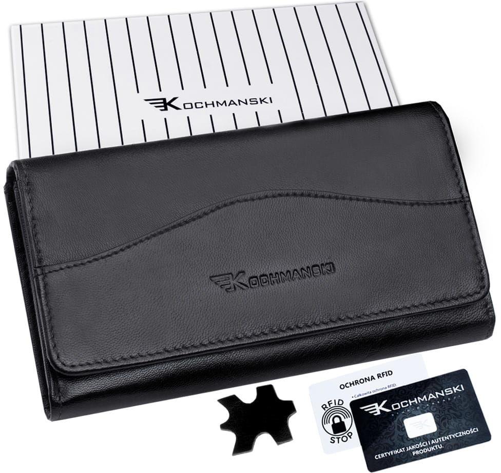 KOCHMANSKI portfel damski skórzany RFID 4325