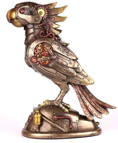 Figurka Papuga Steampunk Veronese na Prezent