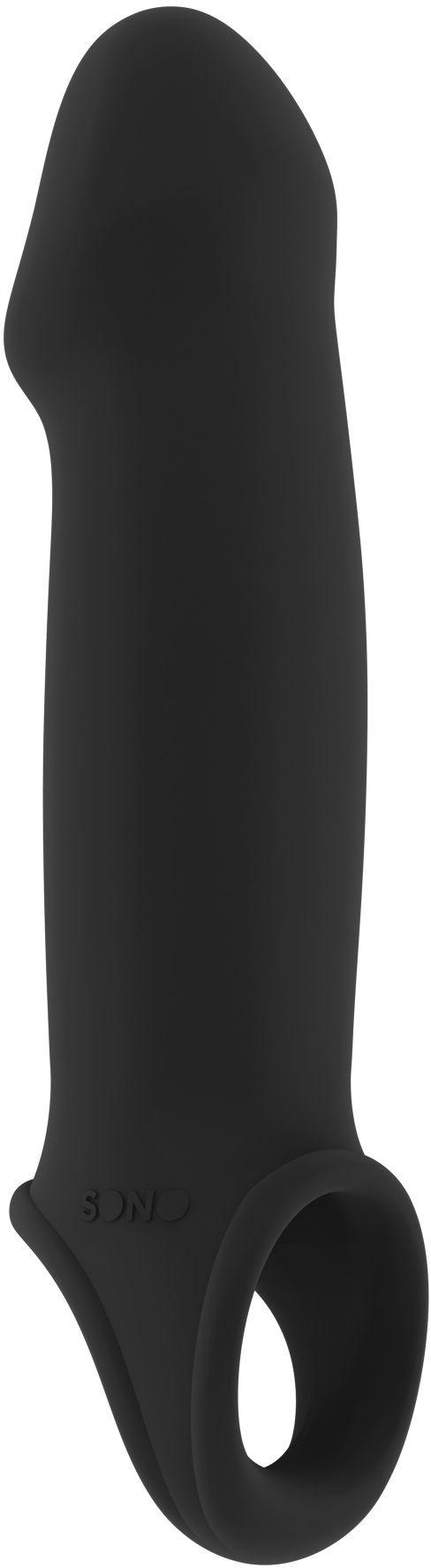 Sono No.33 Stretchy Penis Extension Black