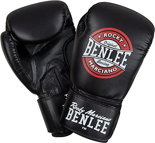 Benlee Rocky Marciano PRESSURE rękawice bokserskie, czarny/czerwony/biały, 10 oz