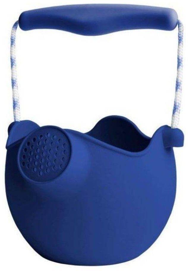 Silikonowa konewka / wiaderko Scrunch - royal blue