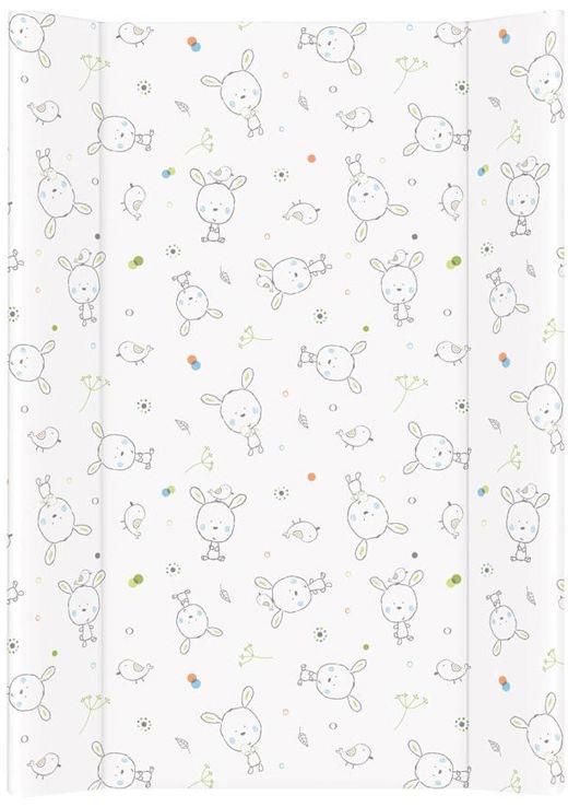 MAMO-TATO Przewijak na łóżeczko usztywniony 50x70 Dream biały rozproszony