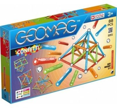 GeoMag - Klocki magnetyczne Confetti 88 el. 353