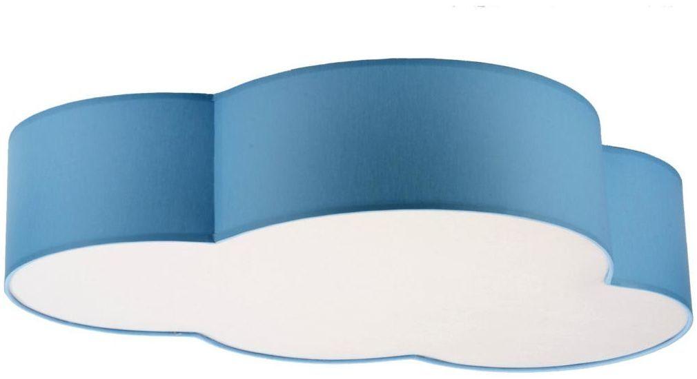 Plafon Cloud niebieski 4 x E27 TK Lighting