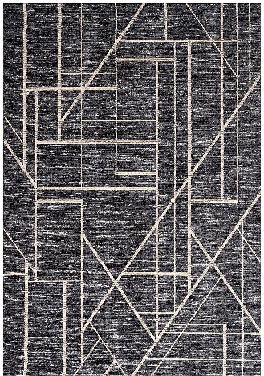 Dywan Velvet wool/petrol blue 160x230cm
