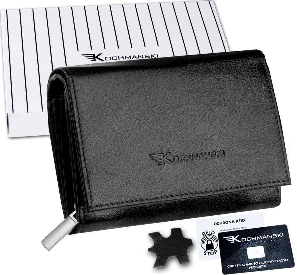 KOCHMANSKI portfel damski skórzany mały 4331