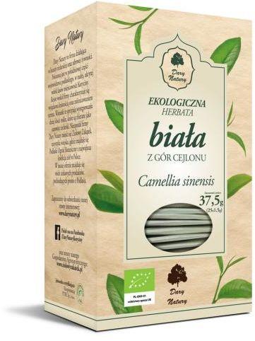 Herbata biała cejlońska BIO (25 x 1,5 g) Dary Natury
