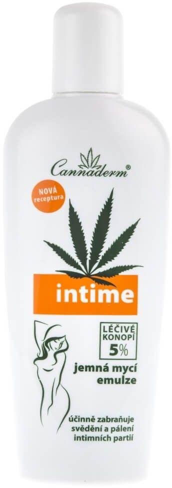 Cannaderm Intime Emulsja do higieny intymnej - 150 ml