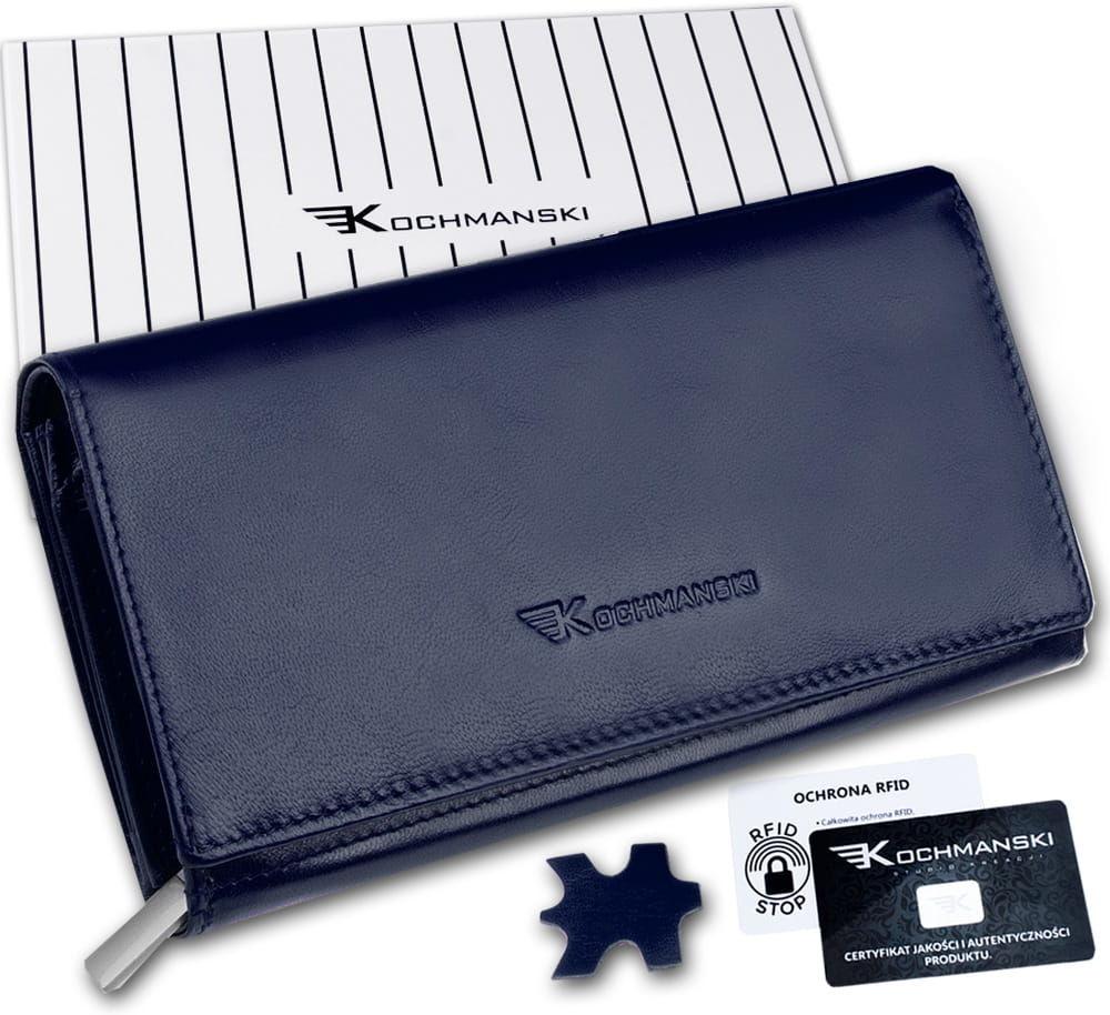 KOCHMANSKI portfel damski skórzany XXL 4350