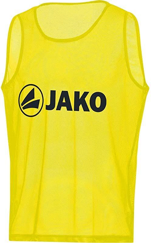 Jako Classic 2.0 koszulka z oznaczeniem, neonowy żółty, (02) senior