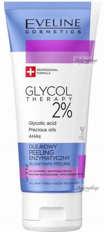 Eveline Cosmetics - GLYCOL THERAPY 2% - Oil Enzematic Peeling - Olejkowy peeling enzymatyczny - 100 ml