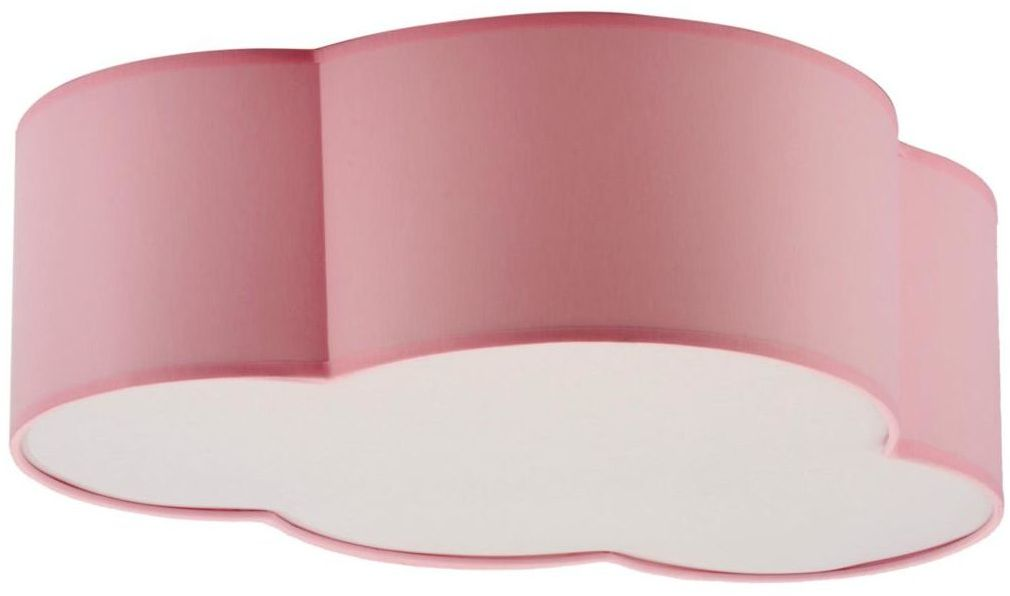 Plafon Cloud różowy 2 x E27 TK Lighting