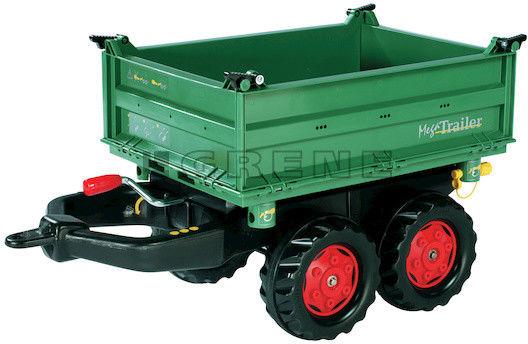 Rolly Toys rollyTrailer Przyczepka Wywrotka Mega Trailer do Traktora