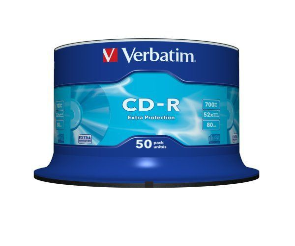 Płyta CD-R VERBATIM CAKE BOX 50 szt. (G) - X03655