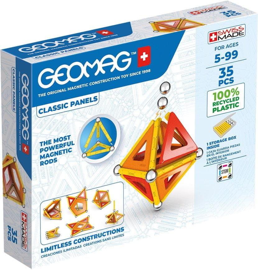 GeoMag - Klocki magnetyczne Eco Panels 35 el. 470