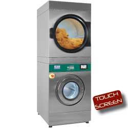 Pralko-suszarka 11 kg (elektryczna) + suszarka obrotowa 11 kg (gazowa) TOUCH SCREEN 11800W 720x1003x(H)1991mm