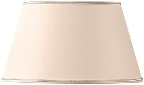 Klosz lampy/abażur do półżyłek, 35 x 24 x 20 cm, beżowy/różowy