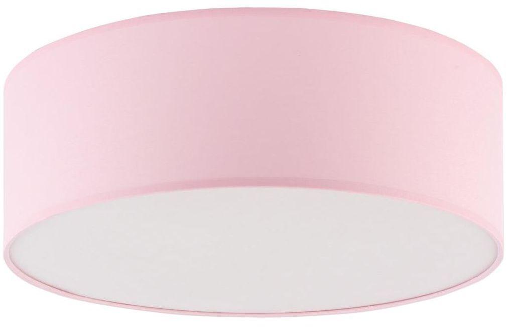 Plafon Rondo 38 cm różowy 4 x E27 TK Lighting