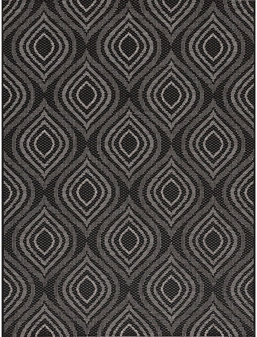 Dywan Breeze black/ clif grey 120 x 170 cm