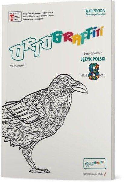 Ortograffiti SP 8 Język Polski. Zeszyt ćwiczeń 1 - Anna Adryjanek