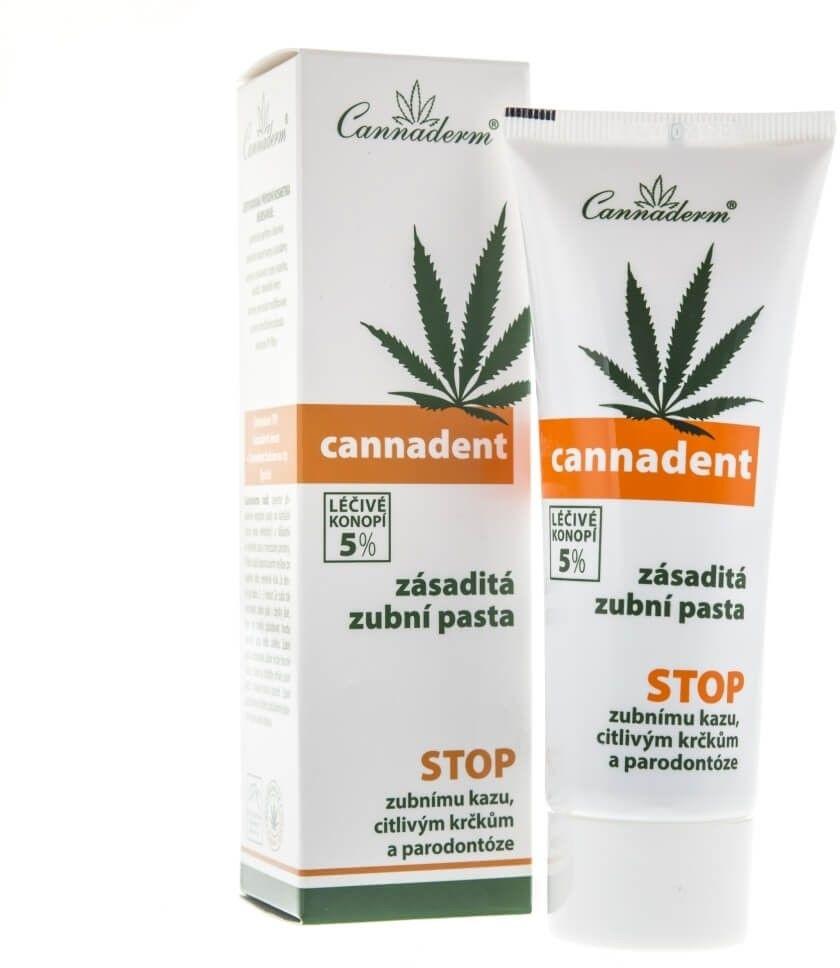 Cannaderm Cannadent Pasta do zębów - 75 g