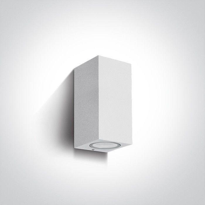 Kinkiet elewacyjny zewnętrzny Arco II 2 punktowy IP65 biały NL67426AW - Zeni Do -17% rabatu w koszyku i darmowa dostawa od 299zł !