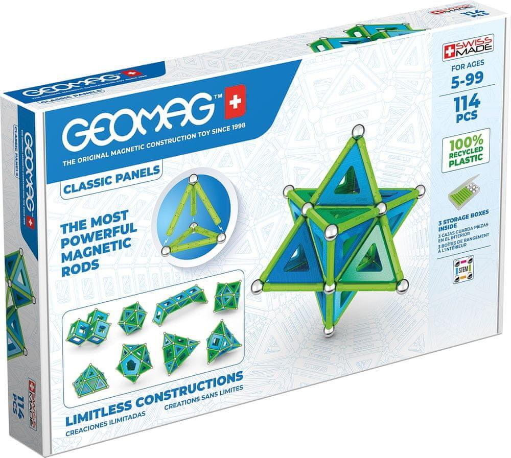 GeoMag - Klocki magnetyczne Eco Panels 114 el. 473