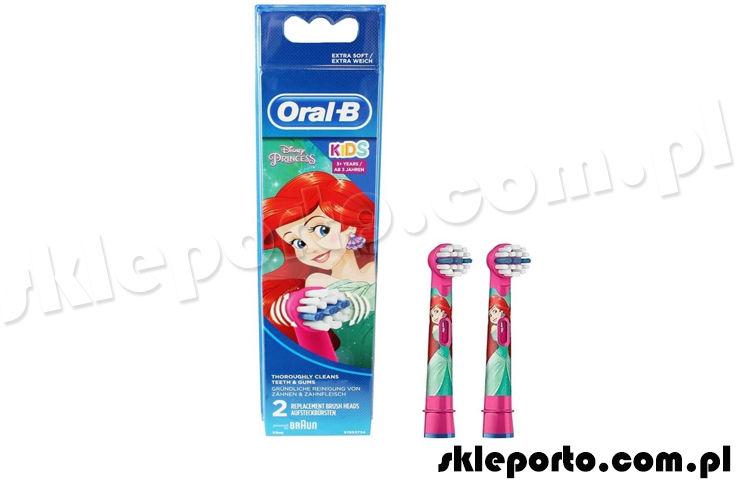 Oral-b Stages Power końcówki dla dzieci do szczoteczki elektrycznej - KSIĘŻNICZKA / 2szt /