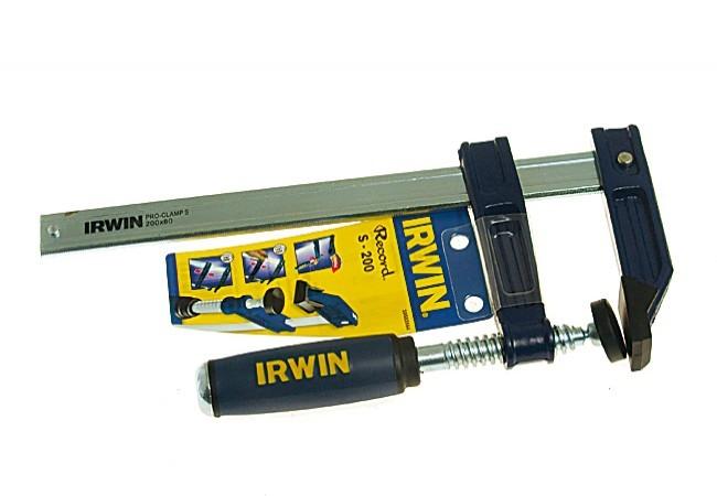 Ścisk śrubowy nastawny Typ S 80 mm /200 mm Irwin