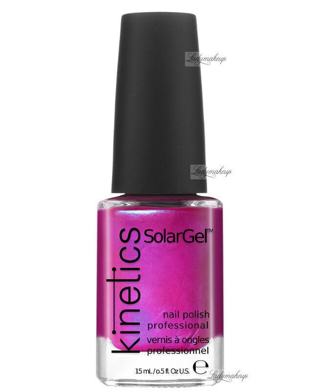 Kinetics - SOLAR GEL NAIL POLISH - Lakier do paznokci - System Solarny - 196 ELECTRO PINK