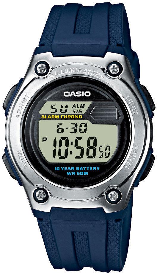 Zegarek Casio W-211-2AVEF W-211-2AVES - CENA DO NEGOCJACJI - DOSTAWA DHL GRATIS, KUPUJ BEZ RYZYKA - 100 dni na zwrot, możliwość wygrawerowania dowolnego tekstu.