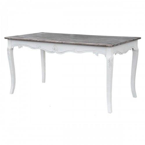 Stół biały w stylu francuskim RIMINI WHITE