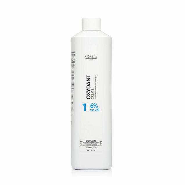 Loreal Oxydant Creme Stabilised 6% Stabilizowana woda utleniona w kremie 1000 ml