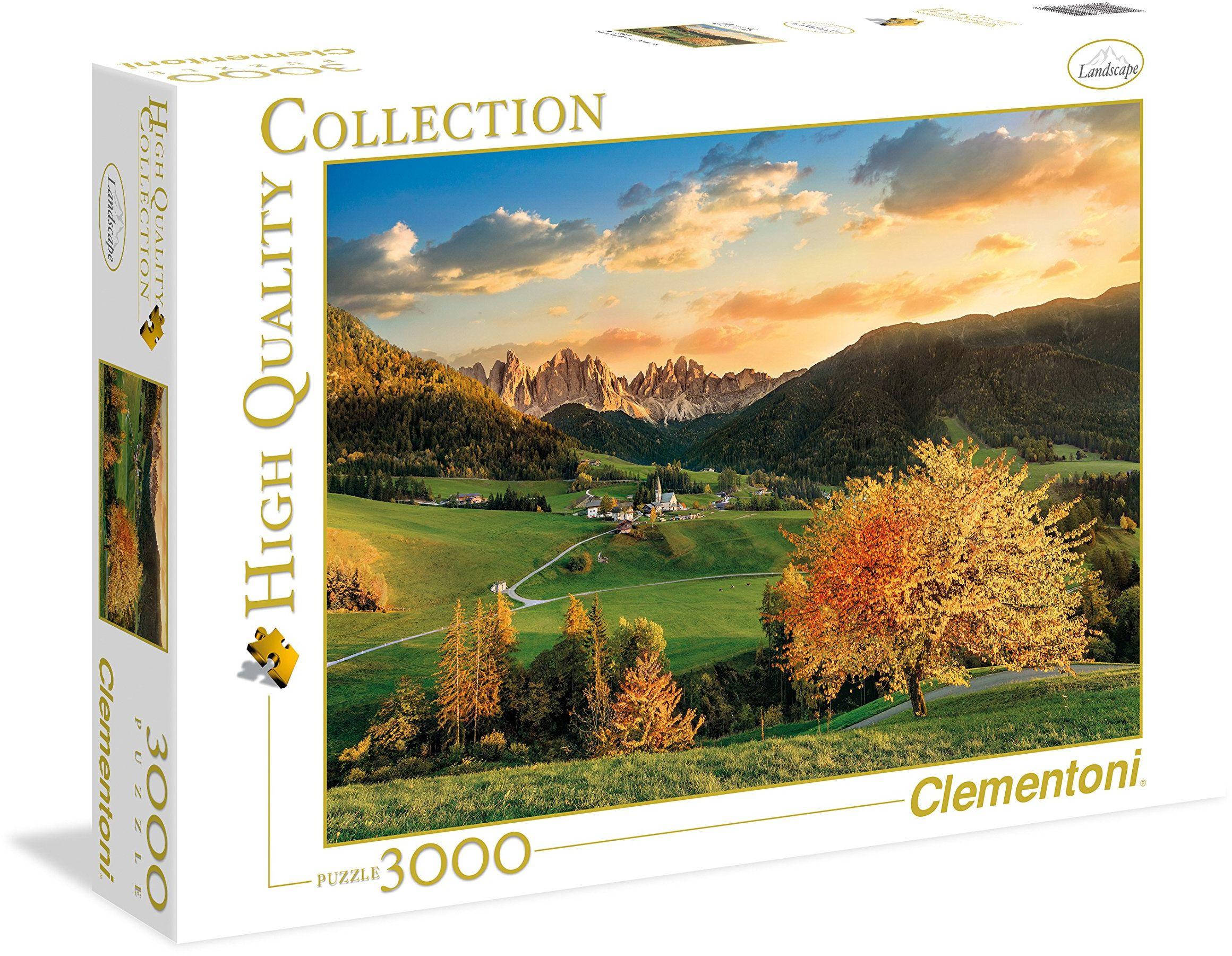 "Clementoni 33545.9 - Puzzle""High Quality Kollektion - Die Alpen"", 3000 części"