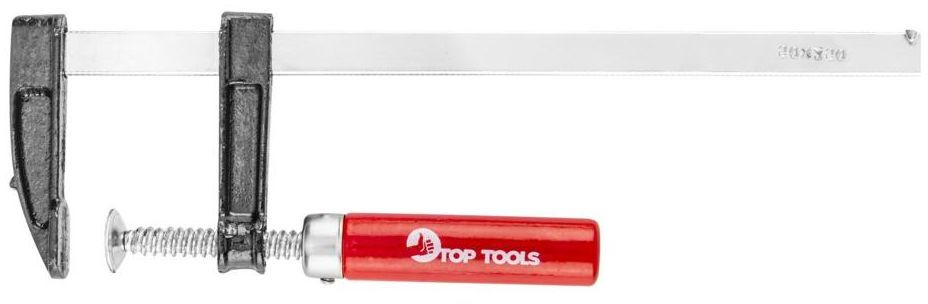 Ścisk stolarski TYP F 50 x 250 mm 12A202 Top Tools