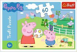 """Trefl -17356 """"60 - Zabawy W Gronie Przyjaciół"""" / Peppa Pig"""