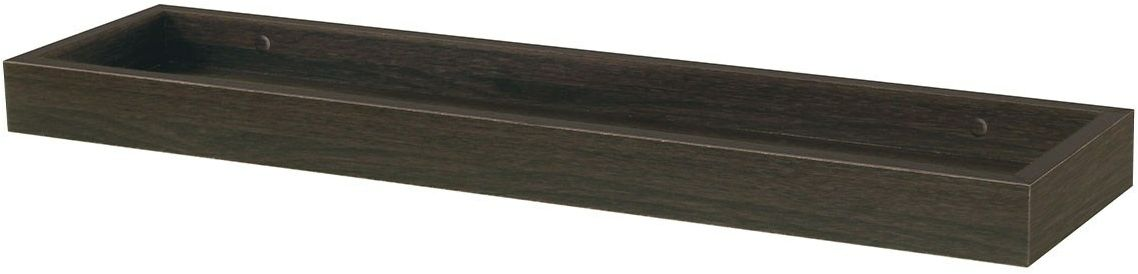 Półka ścienna orzech, 60 cm