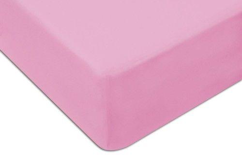 Prześcieradło Jersey Z Gumką 60x120 Różowe Darymex