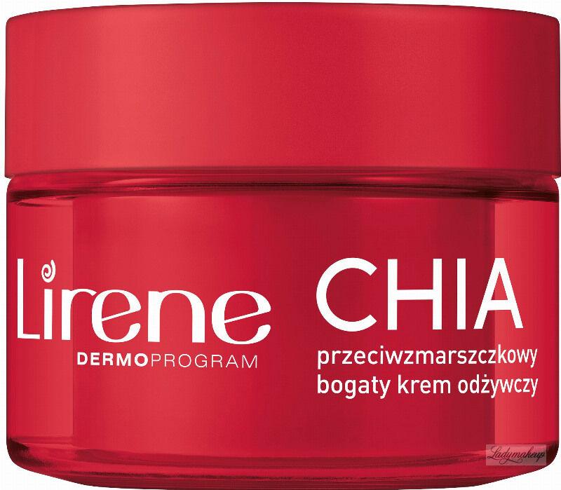 Lirene - SUPERFOOD FOR SKIN - Przeciwzmarszczkowy krem odżywczy do twarzy - Chia - 50 ml