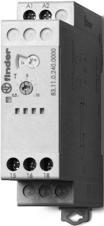 Przekaźnik czasowy 1CO 16A 24-240V AC/DC, Funkcja DI 83.21.0.240.0000